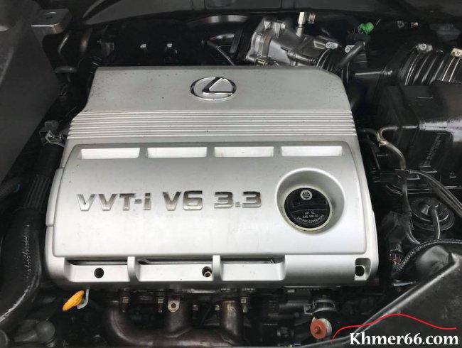 TOYOTA Lexus RX330 2004 Base Option Silver Pong2, Phnom Penh