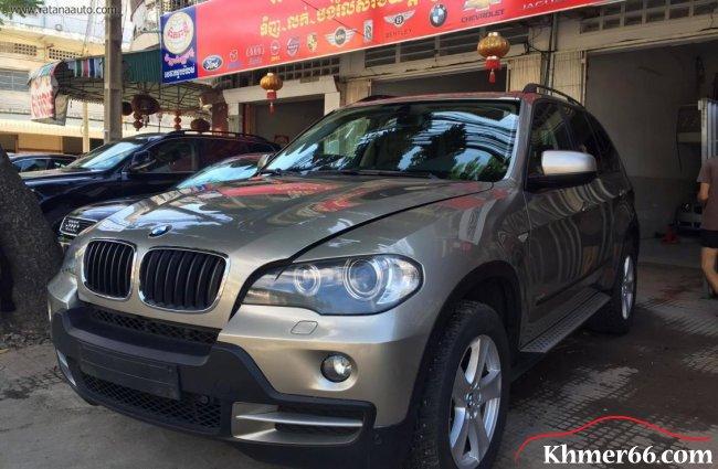 $44,900 BMW X5 2007 Gearbox Automatic 3.0L, Phnom Penh